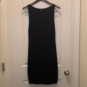 Black Theory sweater dress, small.